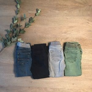 FOUR Hanna Andersson Boys 100 Pants (size 4)